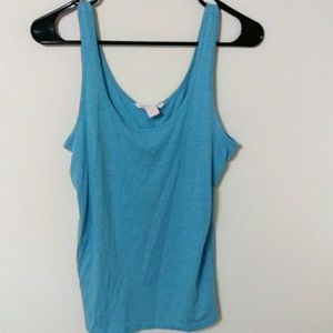Victoria's Secret blue tank top size large